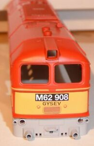 Gützold 50240 Carcasa Locomotora Diésel M 62 908 / Br 120 Naranja Gysev Ep4