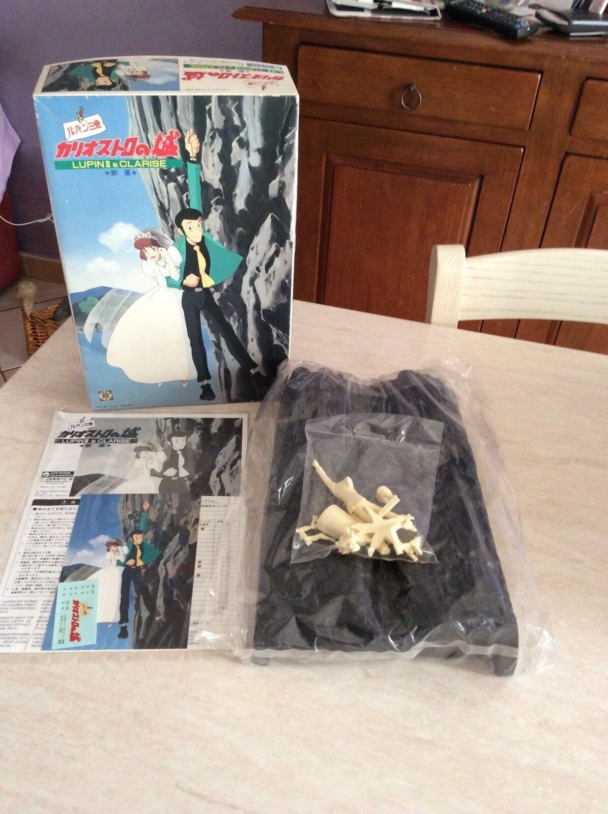 Rarissimo kit montaggio lupin e clarisse gunze sangyo 1996 nuovo 1 24 made japan