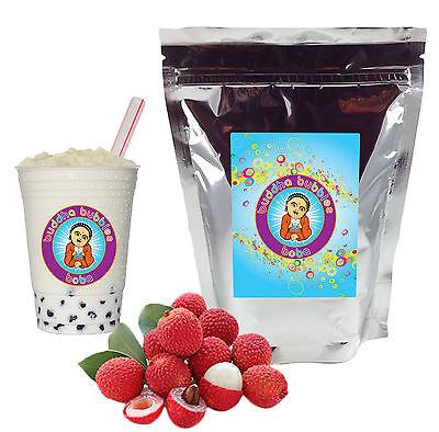 Lychee Boba / Bubble Tea Powder by Buddha Bubbles Boba (1 Pound | 453 Grams)