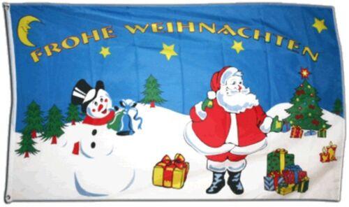 Drapeau Joyeux Noël drapeau de Noël Hissflagge 90x150cm