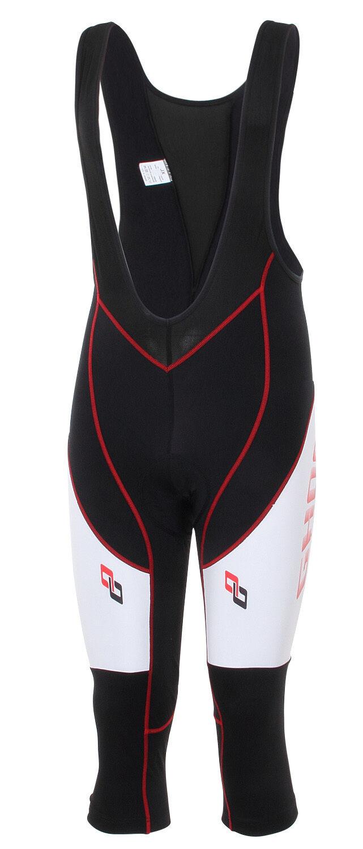 Ghost vigas pantalones pro Bib 3 4 negro blanco rojo 2017-L