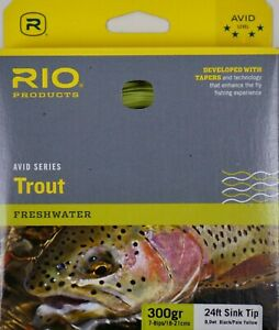 Rio-Avid-Sink-Tip-Fly-Line-300-Grain-24-FT-FREE-SHIPPING