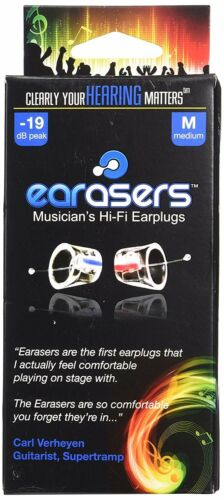 Earasers Musicians Hi-Fi Plugs x-small