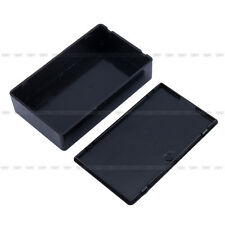 Durable Electronic Project Amplifier Enclosure Instrument Plastic Case Kit Black