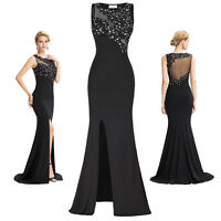 Long Maxi Evening Dresses Formal Party Ball Gown Prom Bridesmaid Dress Au 4-18