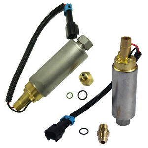 Details about Set of Electric Fuel Pump For MerCruiser V8 305 350 454 502  861156A1 & 861155A3