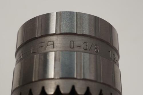 """1//2-20 Mount 42-13B New LFA France 0-3//8/"""" 0-10mm Cap Drill Chuck"""