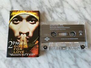2Pac-Do-For-Love-CASSETTE-Tape-Single-1997-Jive-Interscope-Brenda-039-s-Got-A-Baby