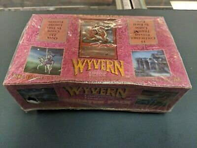 Wyvern CCG Limited Edition Booster Box Unopened