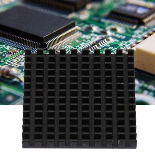 5X Aluminium Kühlkörper Kühler 40x40x5 mm Heatsink CPU Elektronisch Chip WQ
