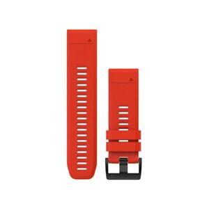 Cinturino-ricambio-QuickFit-26-Rosso-fuoco-per-GARMIN-fenix-5x-art-010-12517-02
