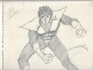 NIGHTCRAWLER original art sketch by legendary Dave Cockrum X-Men co-creator11x14