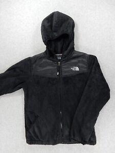 1b2175dae9 The North Face Fleece Full Zip Hoodie Jacket (Girls Large) Black | eBay