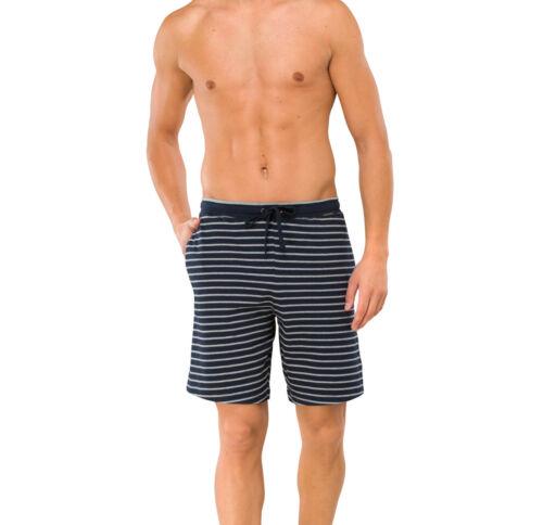Schiesser Uomo Bermuda Shorts 48-7xl breve Lounge Casual Taglie Forti Nuovo
