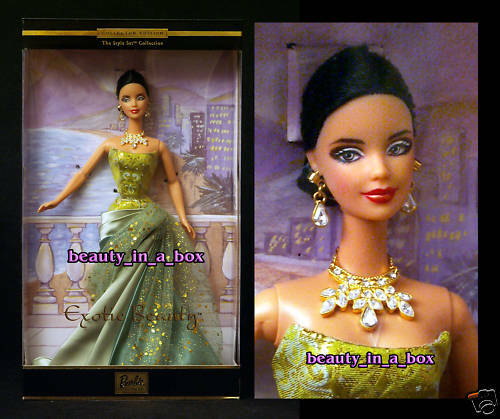 EXOTIC BEAUTY Barbie Doll TREASURE HUNT Style Set in Excellent Box