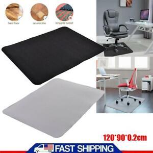 Computer Desk Chair Mat Pvc Protector For Hardwood Floor Mat Home Office Us Ebay