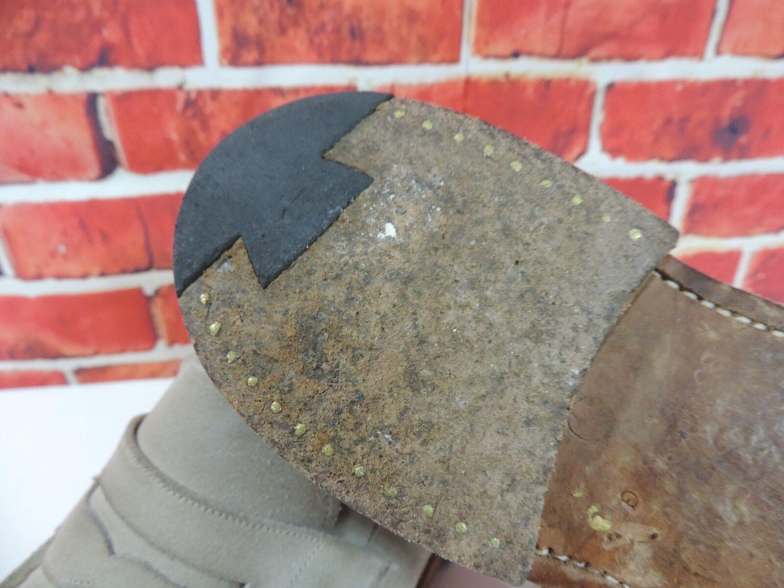 Church's Veloursleder Pennyloafer UK 8.5 G Breit Us 9,5 9,5 9,5 Eu 42,5 Grade Minor Use 683053