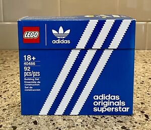 LEGO adidas Originals Superstar Mini (40486) Brand New Factory Sealed