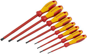 Knipex 98 20 65 VDE Insulated 6.5mm Slotted Screwdriver