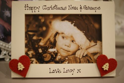 Grandparents Christmas Gift! Personalised Photo Frame