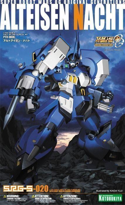 KOTOBUKIYA 1  144 SUPER ROBOT WARS OG SRG -S 020 AltEISEN NACHT Plastic modellllerler Kit