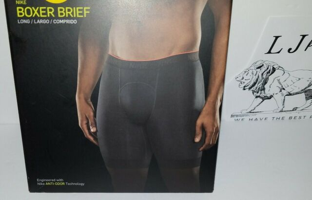 Nike Men/'s Dri-fit Performance Flexible Support Boxer Briefs Sm Md Lg XL 2XL