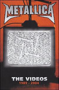 METALLICA-THE-VIDEOS-DVD-GREATEST-HITS-BEST-OF-JAMES-HETFIELD-NEW