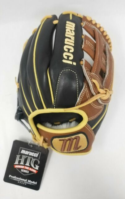 """Marucci HTG Series 11.5/"""" Gumbo//Accents Right Hand Throw Infielders Glove"""