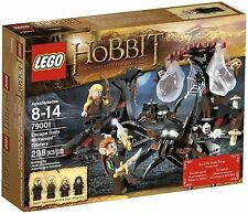 NEW, SEALED Lego HOBBIT LORD ot RINGS 79001 ESCAPE FROM MIRKWOOD SPIDERS Retired
