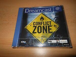 Conflict-Zone-Neuf-et-Scelle-D-039-Origine-Sega-Dreamcast-Version-Pal
