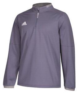 cba8470298d Adidas Men s Adult Fielders Choice 2.0 Hot Jacket 1 4 Zip Sweatshirt ...