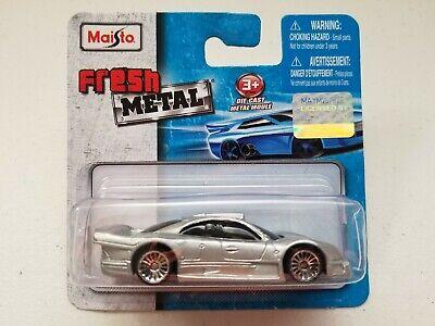 Maisto Fresh Metal 1//64 Mercedes Benz CLK GTR licensed model Daimler