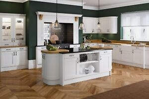 Details About Oxford Matt White Shaker Kitchen Complete Soft Closing Units Cabinets Cupboards