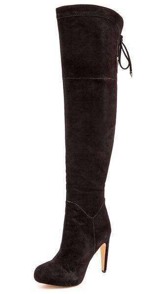 Sam Edelman 'Kayla' Over the Knee Boot  Black Suede Women Size 42 EU/ 10 US