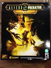 NEW*SEALED PC Game ALIENS VS PREDATOR 2 GOLD EDITION (PC) BIG BOX BRAND NEW