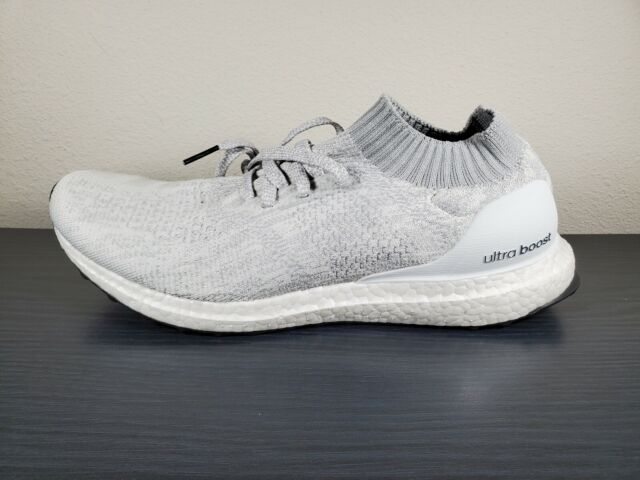 Walter Cunningham rápido ellos  Sz 12 adidas Ultraboost Uncaged Running Shoes White Tint Gray Silver DA9157  for sale online | eBay