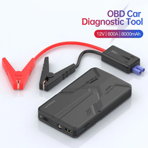 Car Jump Starter Power Bank 12V 600A Battery Charger Portable Emergency Device