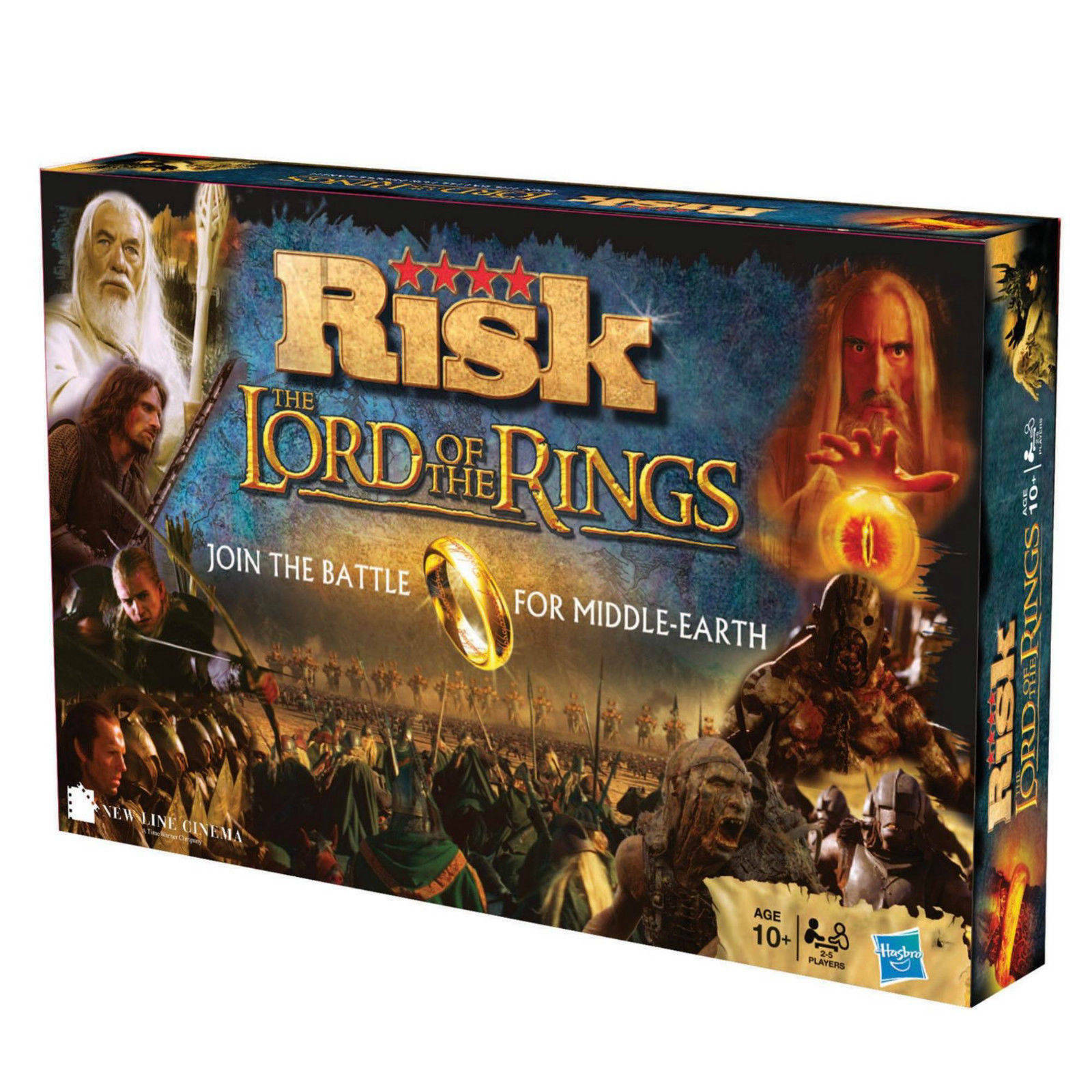 Risk Lord Of The Rings Edition by Hasbro