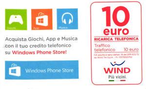 3301 SCHEDA TELEFONICA RICARICA USATA WIND PHONE STORE 10 30-06-2021 UbibbKE2-09121401-228099348
