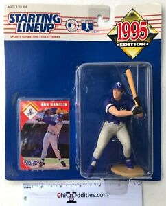 MLB-Kansas-City-Royals-Baseball-Bob-Hamelin-1995-Starting-Lineup-NEW