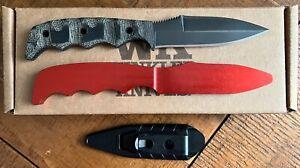 Winkler Knives Dynamis Double Edge W/ sheath & Trainer