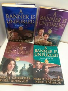 A-Banner-is-Unfurled-SERIES-Volumes-1-4-Set-by-Gallacher-amp-Robinson-LDS-Mormon