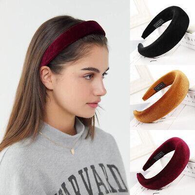 Padded Hairbands Headband For Women Wide Hair Hoop Head Band Hair Accessories