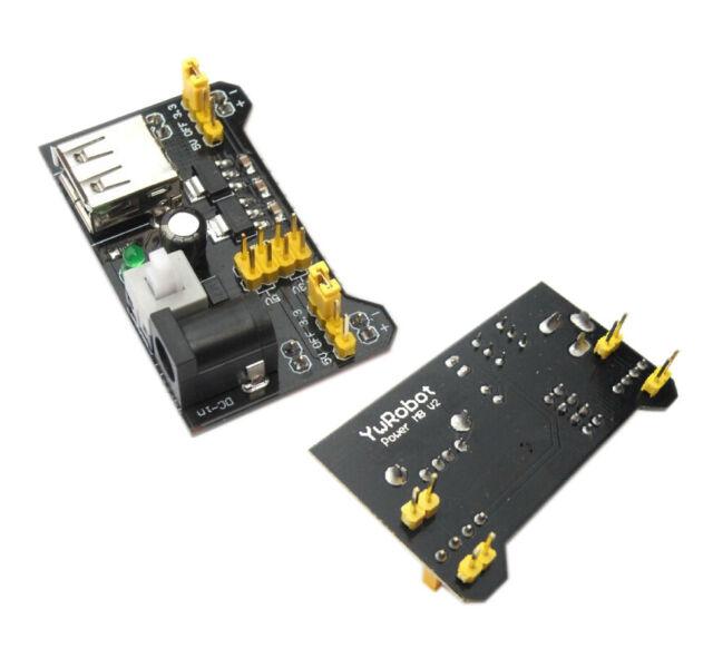1Pcs New 3.3V 5V MB102 Breadboard Power Supply Module For Arduino Breadboard M