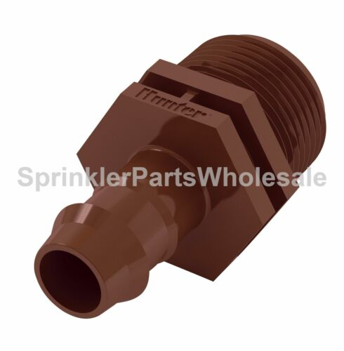 Hunter PLD-075 Fitting Barb to 3//4-Inch MPT Adapter PLD075 Micro Irrigation