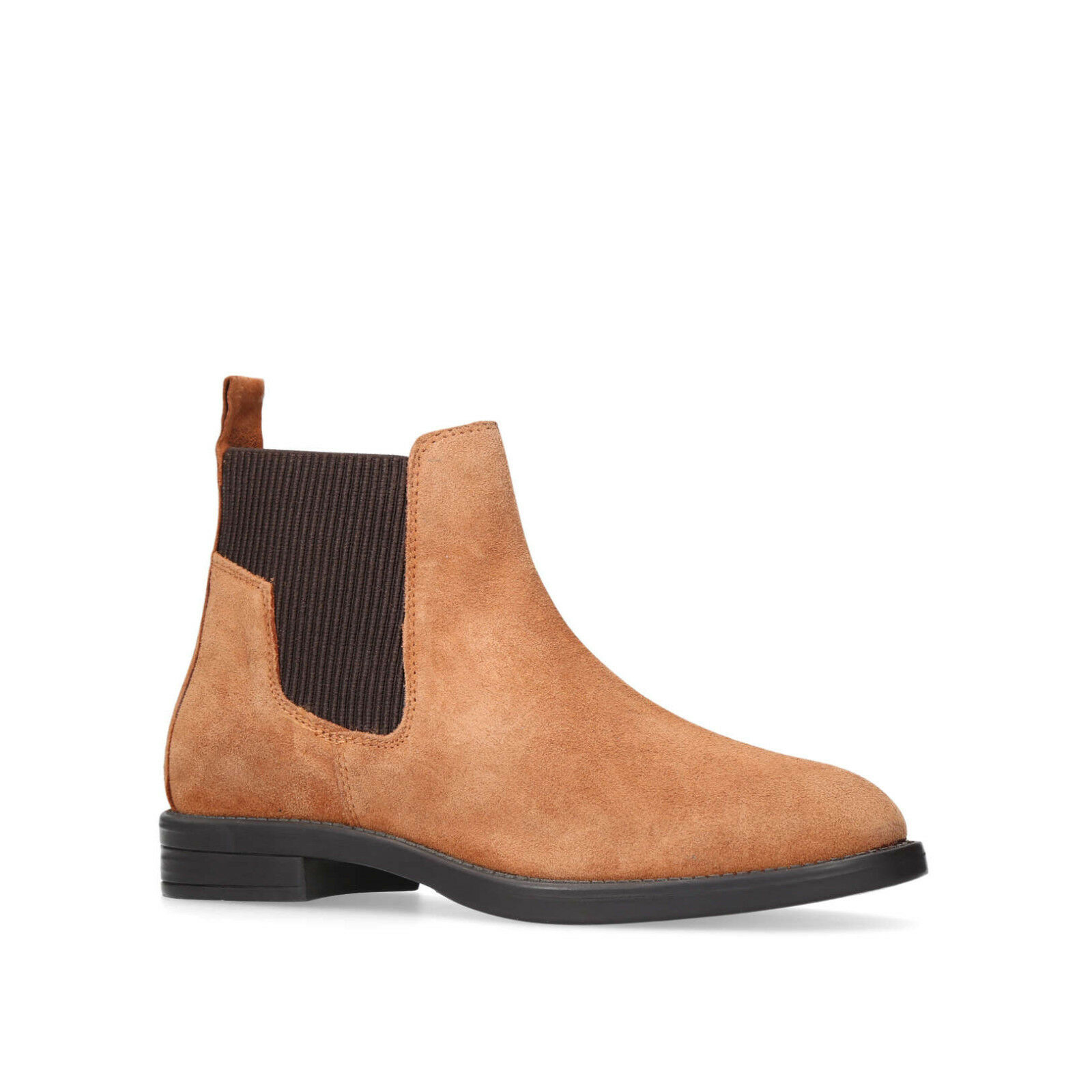 Grandes zapatos con descuento CARVELA KURT GEIGER RANDALL TAN BROWN SUEDE LEATHER CHELSEA ANKLE BOOTS 8 41 10