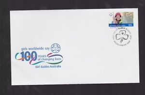 Australia-2010-Girl-Guides-100-Years-worldwide-FDC-inc-International-stamp-J-481