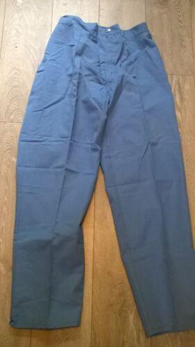 ladies healthcare nurse vet light blue trousers PLUS SIZE 20-24 New NHS etc W40