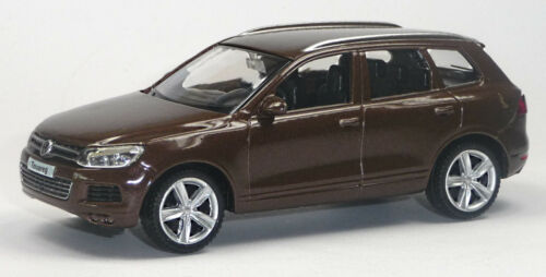 NEU VW Touareg V6 TDI Sammlermodell braun ca 10cm Neuware von RMZ City 1:43
