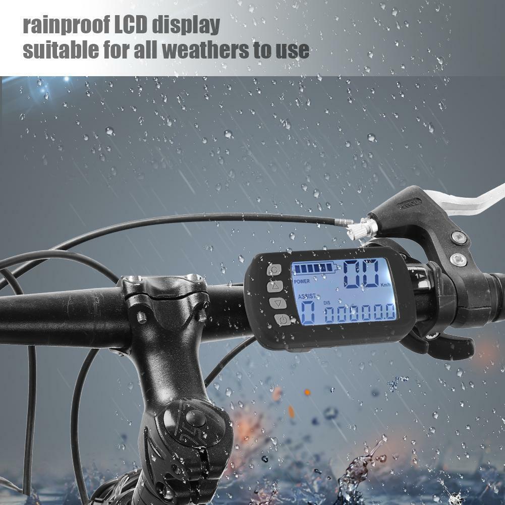 36V 48V 250 350W Brushless Motor Sinus Controller für elektrisch Fahrrad-Roller